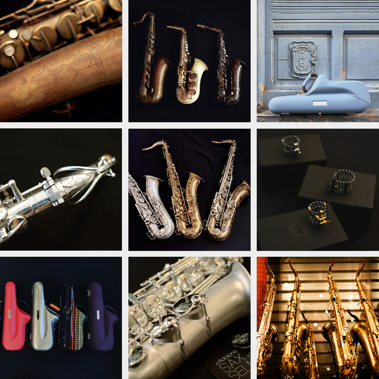 Sax Machine Paris - Saxophone Specialist