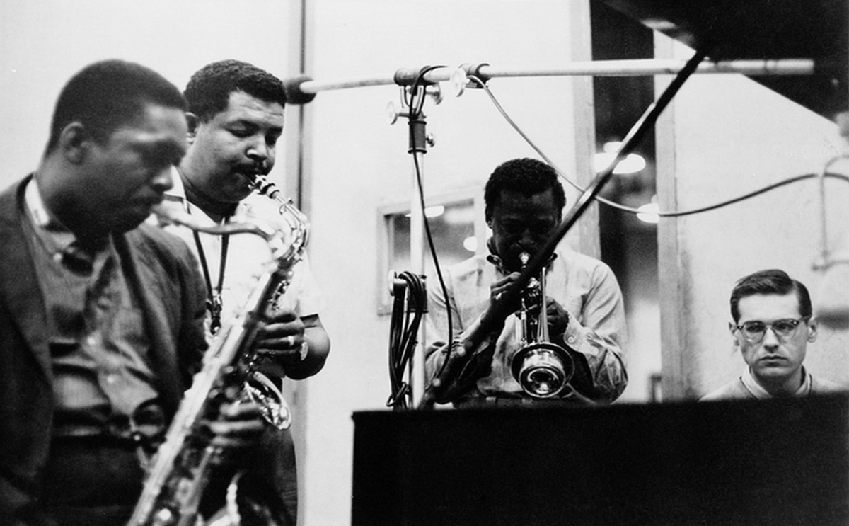 John Coltrane Miles Cannonball sax-machine