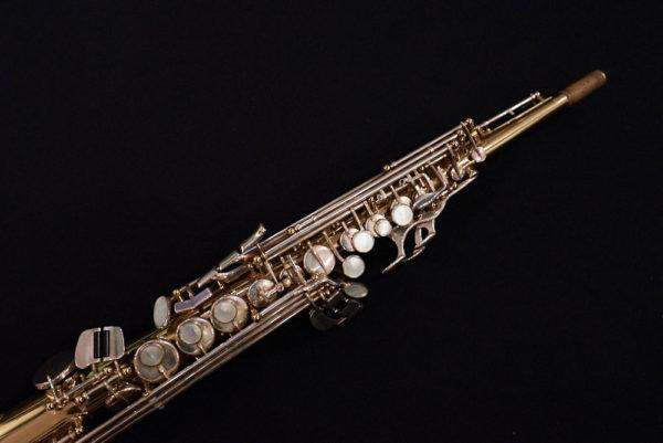 Saxophone soprano selmer SA80 Série II bicolor