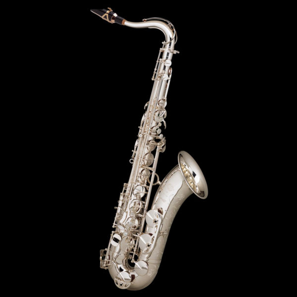 saxophone tenor Selmer Série III plaque argent gravé