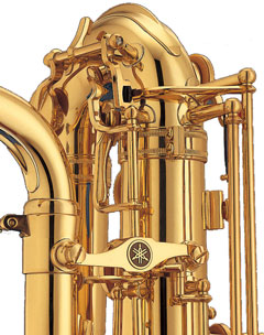 baryton yamaha YBS32 system d'octave